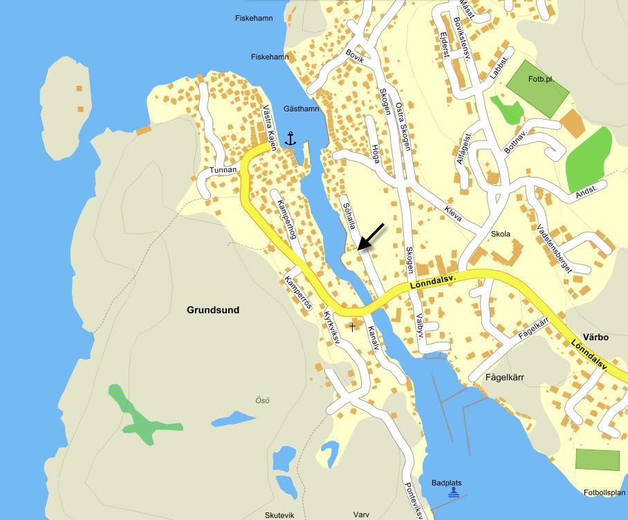 grundsund karta sohallas massage.se grundsund karta